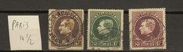 Belgie - Belgique Ocb Nr :  289 290 291 (zie Scan) - 1929-1941 Grand Montenez