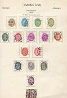 ALLEMAGNE ! Timbres Anciens Et SERVICE De L'Empire Et Du REICH Depuis 1922 à 1930 ! NEUFS - Used Stamps
