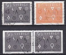 SE219 – SUEDE – SWEDEN – 1963 – ENGINEERING & INDUSTRY – Y&T 505/506 USED 11,50 € - Used Stamps