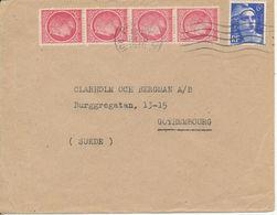 France Cover Sent To Sweden Paris 28-6-1946 - France