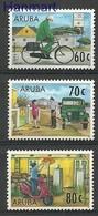 Aruba 1997 Mi 190-192 MNH ( ZS2 ARB190-192 ) - Voitures
