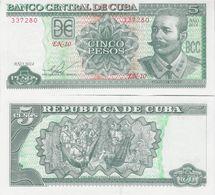 Cuba 2014 - 5 Pesos - Pick 116n UNC - Cuba