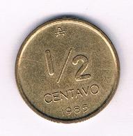 1/2 CENTAVO 1985 ARGENTINIE /5028/ - Argentine