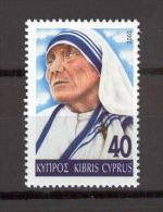 Cyprus 2002 (Vl 828) Mother Teresa MNH - Mère Teresa