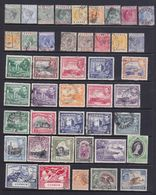 Cipro . Insieme Di 79 Francobolli Differenti Timbrati+87 Ripetuti - Cipro (...-1960)