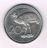 20 TOEA 2006 PAPOEA GUINEA //5038/ - Papouasie-Nouvelle-Guinée