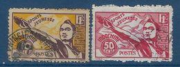 """Indochine YT 284 & 285 """" Jeunesse Sportive """" 1944 Oblitéré - Used Stamps"""