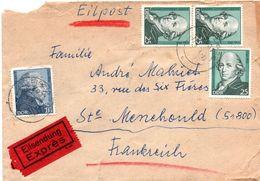 Leipzig 1974 - Eilpost Eilsendung Exprès - Brief Lettre - [6] Democratic Republic