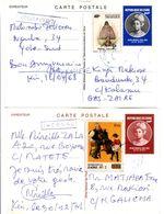 Zaire - 2 Cartes Entier - Ganzsache Stationery - Altri