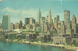 ( NEW YORK   )  ( ETATS UNIS )MIDTOWN MANHATTAN SKYLINE - Manhattan