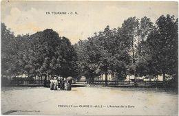 PREUILLY SUR CLAISE : L'AVENUE DE LA GARE - Andere Gemeenten