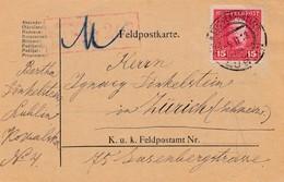 1918: Zensiert Feldkirch In Die Schweiz, Feldpostkarte Lublin - Sonstige - Europa