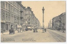 Saint-Petersbourg : Perspective De Nevsky - Russia