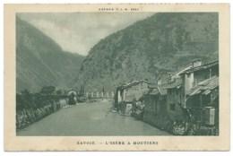 CPSM / L'ISERE A MOUTIERS / NEUVE - Moutiers