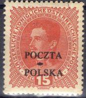 POLOGNE ! Timbres Anciens D'Autriche Surchargés De 1919 N°79 Et 80 - Officials