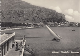 CARTOLINA - PALERMO - MONDELLO - PANORAMA - VIAGGIATA1961 - Palermo