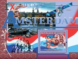 GUINEA - 2007 - Olympics IX Amsterdam - Perf Souv Sheet   - M N H - Guinea (1958-...)