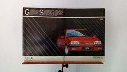Publicité De Presse De 1986 Opel Kadett GSi - Voitures