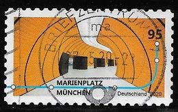 2020  U-Bahn Stationen  (selbstklebend) - Oblitérés