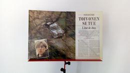 Coupure De Presse De 1986 Rallye Tour De Corse-Mort De Henri Toivonen Et De Sergio Cresto - Carreras De Carros