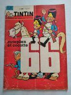 TINTIN N° 757  JESSE JAMES (4p)  LA LANCIA FULVIA  (2p)  COVER BERCK - Tintin