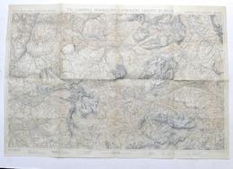 TCI Carta Zone Turistiche - Val Gardena Marmolada Catinaccio Sella - Anni '30 - Autres Collections