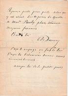 Alexandre DUMAS (père) 1802/1870 - Lettre Autographe Signée - Recherche D'un Ouvrier Confiseur - - Autographes