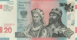 Polen Gedenkbanknote 23.11.2015  UNC - Pologne