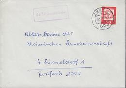 Landpost-Stempel 5541 Gondelsheim Auf Brief PRÜM 15.11.1963 - [7] Federal Republic
