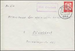Landpost-Stempel 5541 Orlenbach Auf Brief PRÜM 18.11.1963 - [7] Federal Republic