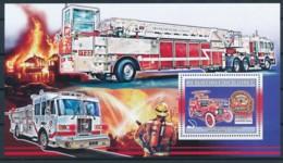 D - [401851]TB//**/Mnh-Guinée 2006 - Véhicules Américains D'incendie, Sapeurs-Pompiers, Camions, Voitures - Pompieri