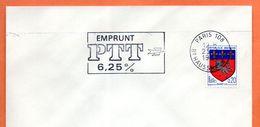 PARIS 108  EMPRUNT 6.25 %  1967 Lettre Entière N° DE 629 - Storia Postale