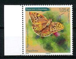 ANDORRE 2019 N° 836 ** Neuf MNH Superbe Faune Papillons Cardinal Argynnis Pandora Insectes Butterflies - Nuovi