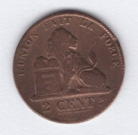 Belgique. Léopold I. 2 Ct 1864. TB+. Morin # 112 - 1831-1865: Leopold I