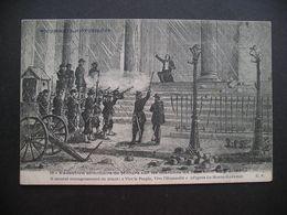 Documents Historiques Execution Sommaire De Milliere Sur Les Marches Du Pantheon 26 Mai 1871 - Storia