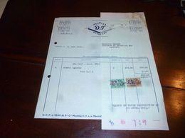 FF1 Document Commercial Facture Meubles D.J. Meubelen Herstal Brussel - Belgien