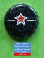King Goblin : Bière Anglaise  (parfait état - Pas De Trace De Décapsuleur)  Beer - Cerveza - Birra    MEV 10 - Bière