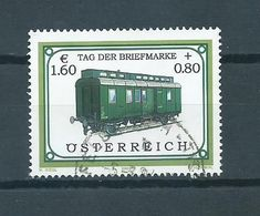 2002 Austria €1.60 Tag Der Briefmarke Used/gebruikt/oblitere - 1945-.... 2ème République