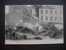 Documents Historiques 28 Mai 1871-2 Heures-Prise De La Derniere Barricade Situee A L'angle Des Rues De Tourtille Et... - Storia