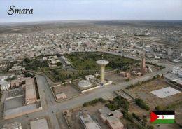 1 AK Westsahara * Blick Auf Die Stadt Smara - Hauptstadt Der Provinz Es Semara - Luftbildaufnahme * - Sahara Occidental
