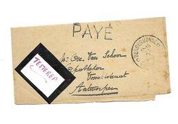 Noodstempel/Fortune PAYE Dendermonde 25.I.1919  Bandelete/wrapper - Belgium
