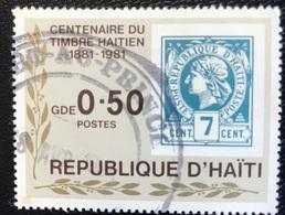 Haïti - A1/19 - (°)used - 1984 - 100 Jaar Postzegels In Haïti - Haiti