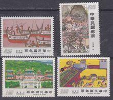 Taiwan N° 1138 / 41 XX Dessins D'enfants,  La Série Des 4 Valeurs Sans Charnière, TB - 1945-... Republic Of China