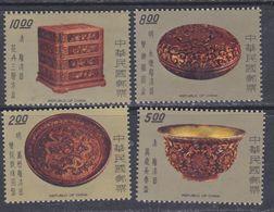 Taiwan N° 1142 / 45 XX Laque Ancienne De Chine ( I ),  La Série Des 4 Valeurs Sans Charnière, TB - 1945-... Republic Of China