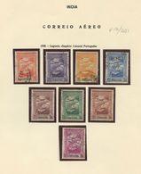 Used Stamps, Lot, India, CORREIO AÉREO, 1938, Império Colonial Português   (Lot 401) - Inde Portugaise