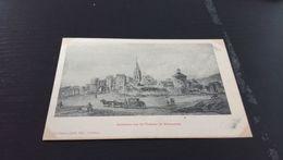 CARTE POSTALE Ancienne Vue Du Château De VERMENTON (estampe) - Desvignes, éditeur - Précurseur En L'état Sur Les Photos - Vermenton