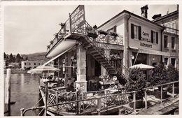1689/ Ponte - Tresa, Hotel Restaurant Crivelli, Propr. Fred. Blaser - TI Tessin