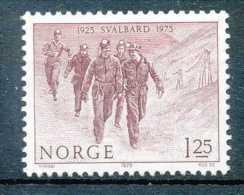 NB - [601421]SUP//**/Mnh-Norvège 1975, Mineurs, Métiers - Métiers
