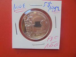 ILE NIUE 5$ 1992 ARGENT QUALITE FDC (A.10) - Niue