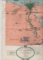 Carte United Arab Republic Egypte Egypt 1963 Kamel - Maps